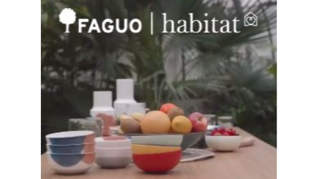 FAGUO x Habitat : la collaboration pop & responsable de l'été 2020 !
