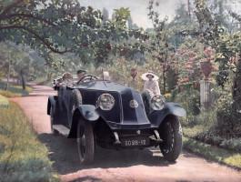 Invitation conférence Séverin RACENET : 1900-1935, naissance et développement du tourisme automobile et régional